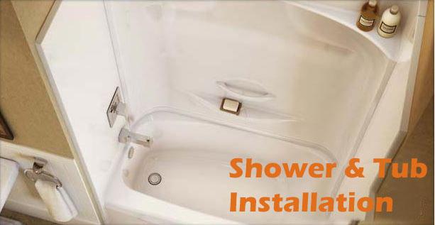 Shower & Tub Installation