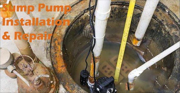 Sump Pump Installation & Repair