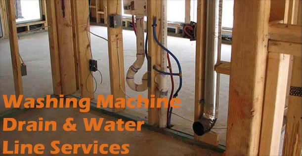 Washing Machine Drain & Water Line Services